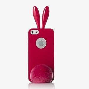 RABITO BUNNY Original Coque iPhone 5S/5 Protection Etui Portable LAPIN ROUGE: Amazon.fr: High-tech