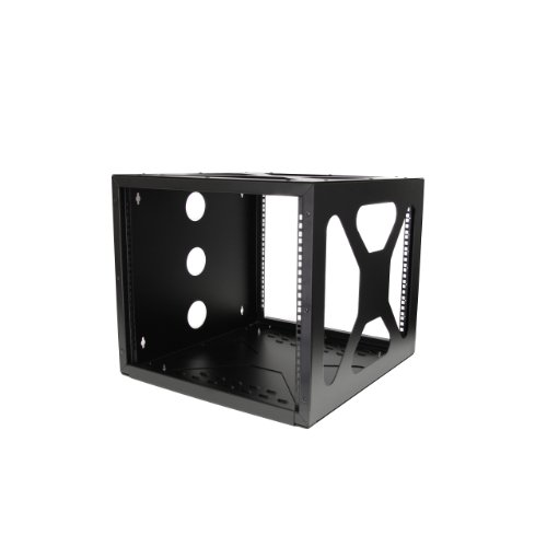 StarTech 8U 19 inch Wall Mount Side Mount Open Frame Rack Cabinet for Server
