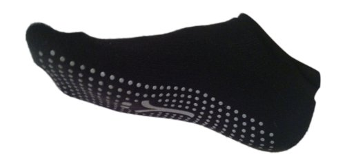 Grip Socks for Barre/Fitness/Home/Being Awesome (Medium)