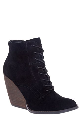 Arlington Lace-Up Wedge Bootie