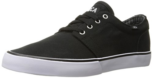 C1RCA Men's Drifter Skate Shoe, Black/White, 9.5 M US