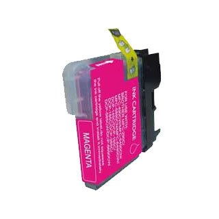 Brother LC980M / LC1100M (LC61) - Magenta Kompatible Drucker-Tintenpatrone für Brother DCP-145C DCP-163C DCP-165C DCP-167C DCP-195C DCP-197c DCP-365CN DCP-373CW DCP-375CW DCP-377CW / MFC-250C MFC -255CW MFC-290C MFC-295CN MFC-297C MFC-490CN-MFC-490CW MFC-5490CN MFC-5890CN MFC-6490CN MFC-670CD-MFC-670CDW MFC-790CW MFC-930CDN MFC-930CDWN MFC-990CW