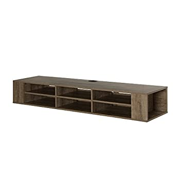 South Shore City Life Wall Mounted Media Console, 66