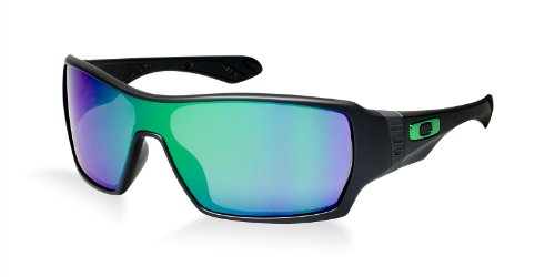 Oakley Men Oo9190 Offshoot Shaun White Black/Green Sunglasses 32Mm