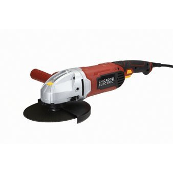 "Chicago Electric Power Tools 7"" Heavy Duty Angle Grinder"