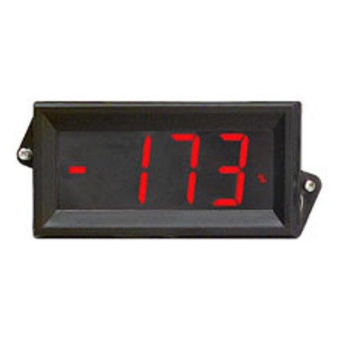 Osmvp-809R Red Back-Lit Digital Panel Meter Lcd Display V-In 200Mv, 5V, 10V