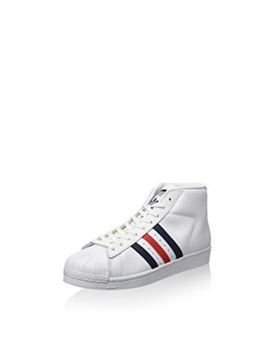 adidas Zapatillas abotinadas Promodel Blanco / Azul / Rojo
