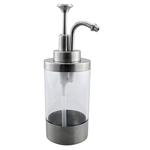 Cozhome Best Soap Satin Finished Liquid Dispenser Bottle With Pump Modern Bathroom Kitchen