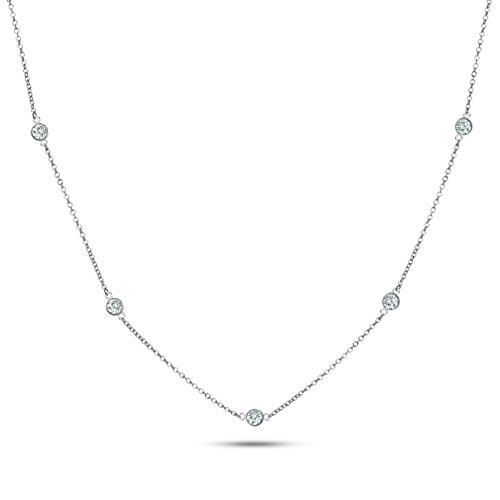 20-925-sterling-silver-cz-by-the-yard-round-cut-cubic-zirconia-chain-necklace