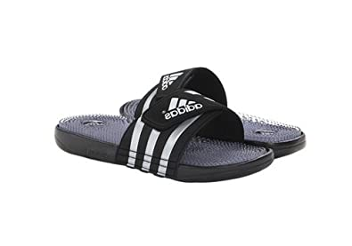 Adidas Men'S Addissage Fade Sandal Slippers Slides, Black, 7 M US
