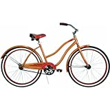 Huffy Women's Good Vibration Bike (Caramel Metallic, Large/26-Inch)