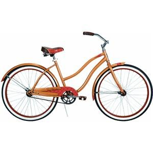 Huffy Women's Good Vibration Bike (Caramel Metallic, Large/26-Inch)