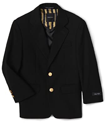 Nautica Dress Up  Big Boys'  Navy Blazer, ELO Blue,8