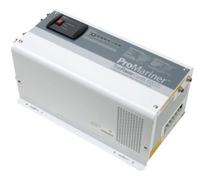 ProMariner 01012 True Power 1000QS Inverter/Charger - 1,000 Watt Modified Sine Wave Inverter with 12 Volt, 40 Amp Battery Charger