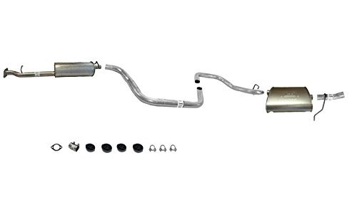 Mac Auto Parts 40998 Chevy Malibu 3.5L Muffler Exhaust Pipe System A/P Brand Except MAXX