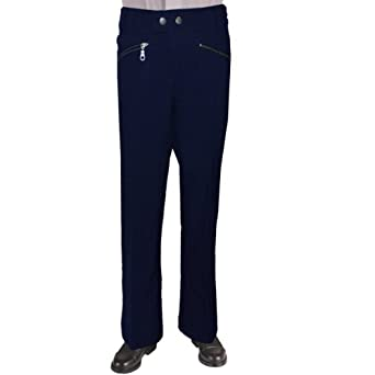 French Toast Little Girls' Zipper Pocket Pant (Navy - 4)
