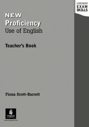 New Proficiency Use of English Teacher's (Longman Exam Skills)