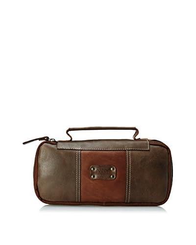 Andrew Marc Men's Leather Express Travel Kit