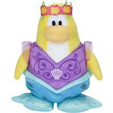 Buy Low Price Jakks Pacific Disney Club Penguin 6.5 Inch Series 5 Plush Figure Mermaid [Includes Coin with Code!] (B002W3FOVS)