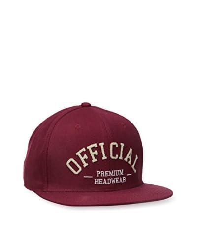 Official Crown of Laurel Men's Burgs Statement Hat, Burgundy