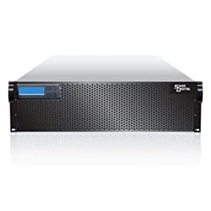 Sans Digital AccuRAID AR316IS - 3U 16 Bay SAS/SATA to Quad Port GbE iSCSI * 4 RAID 6 Storage Rackmount