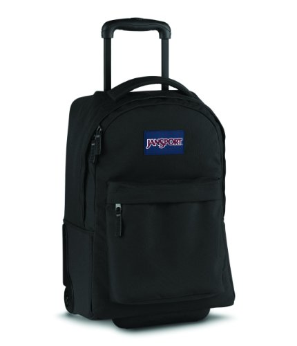 Jansport Wheeled Superbreak Rucksack - Black