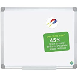 Earth Gold Ultra Dry Erase Magnetic Whiteboard Size: 2\' H x 3\' W