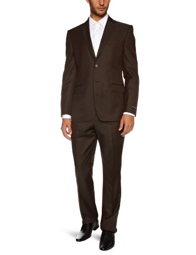 French Connection Tom Tonic Single Breasted Men's Two Piece Suit Bear C40IN