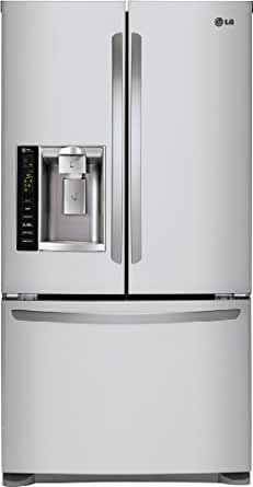 LG LFX25974 25 Cu. Ft. French Door Refrigerator with Pull-out Freezer Drawer and Ice and Wat, Stainless Steel