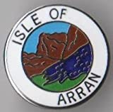 Isle of Arran Scotland Scottish Pin Badge