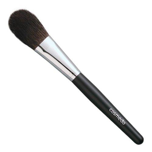 匠の化粧筆コスメ堂 熊野筆メイクブラシ レギュラータイプ灰リス100%チークブラシ