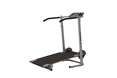 Exerpeutic 100xl Heavy Duty Magnetic Manual Treadmill With Pulse from Exerpeutic