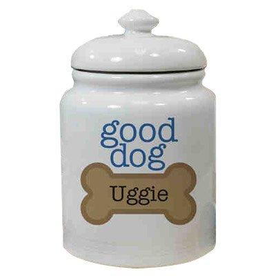 Personalized Ceramic Good Dog Treat Jar (Personalized Dog Treat Jar compare prices)