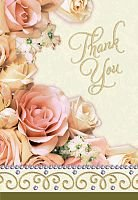 Dazzling Shower Thank You Notes - 8/Pkg - 1