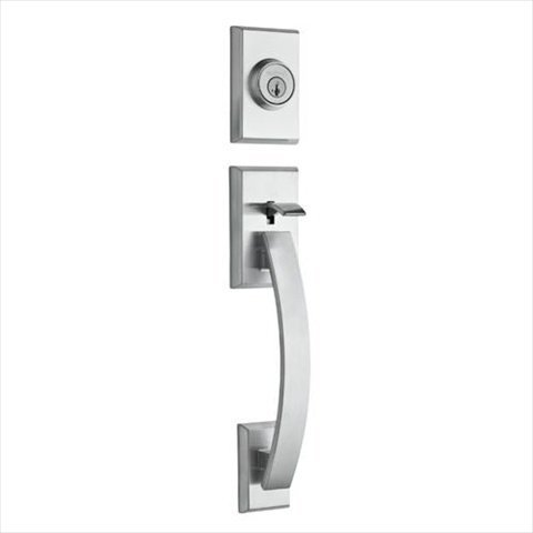 Kwikset 800Tvh Lip 26D Smt Rcal Tavarissingle Cylinder Handleset Less Interior Pack In Satin Chrome Feat Smartkey front-1068562