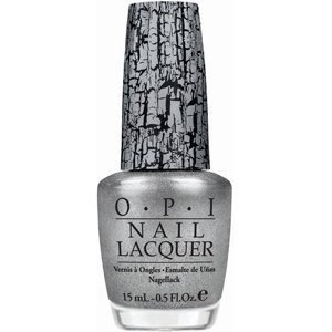Pirates of the Caribbean Silver Shatter nail polish