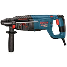 Factory-Reconditioned Bosch 11255VSR-RT BULLDOG Xtreme 1-Inch SDS-plus D-Handle Rotary Hammer