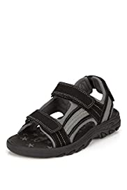 Open Toe Trekker Sandals