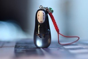 Spirited Away No-Face Model Figure Doll Translucence Pendant - 1