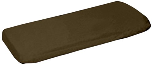 aBaby Organic Fitted Porta Crib Sheet, Brown