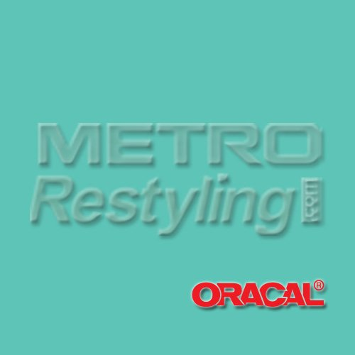"""Oracal 631 Matte Mint Wall Graphic, Craft, Cricut & Sign Vinyl Decal Adhesive Backed Sticker Film 12""""X12"""""""