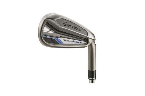 TaylorMade Men's SpeedBlade Golf Iron, Left Hand, Steel, Stiff, SW