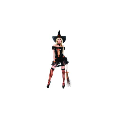 Wickedly Sexy Women's Costume Adult Halloween Outfit - Size S/M, Dress Size 2-5