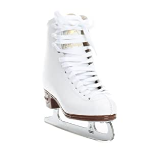 Jackson JS1491 Mystique Misses Ice Skates White Beginner Level Figure Skating by Jackson