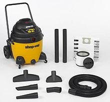 Shop-Vac 962-19-00 Ultra Pro Wet Dry Vacuum 18-Gallon 6 5-HP