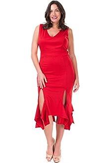 Nyteez Women's Plus Size Salsa Dress