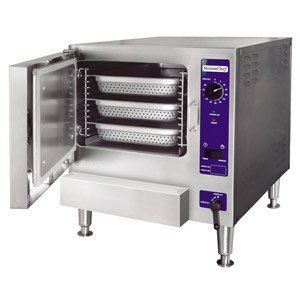 240V 3 Phase Cleveland 22Cet3.1 Steamchef 3 Three Pan Electric Countertop Steamer