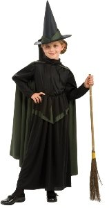 Wizard Of Oz Wicked Witch Child Costume Size 12-14 Large