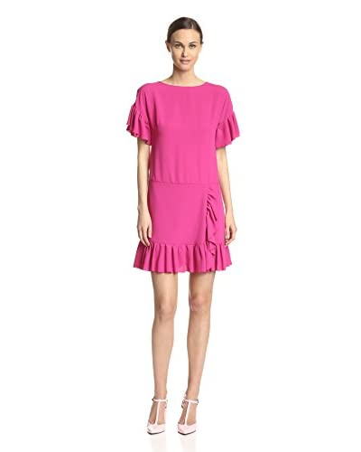 RED Valentino Women's Ruffle Trim Dress
