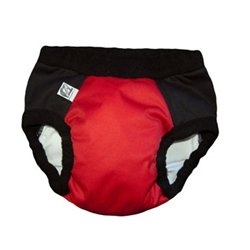 Super Undies! Bedwetting Pants, The Web Slinger (Red), Size 2 (Large)